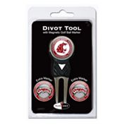 Team Golf Washington State Cougars 4 pc Divot Tool & Ball Marker Set