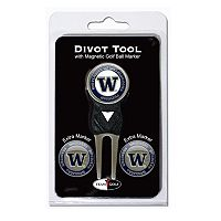 Team Golf Washington Huskies 4 pc Divot Tool & Ball Marker Set