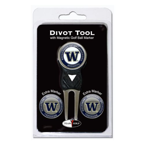 Team Golf Washington Huskies 4-pc. Divot Tool and Ball Marker Set