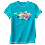 ZeroXposur Peace, Love, Sun Rash Guard - Girls 7-16