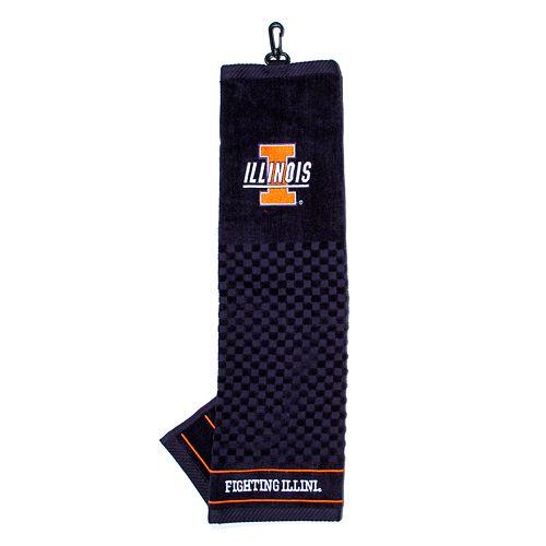 Team Golf Illinois Fighting Illini Embroidered Towel