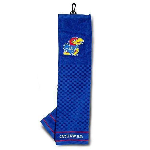 Team Golf Kansas Jayhawks Embroidered Towel