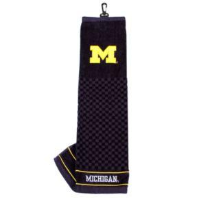 Team Golf Michigan Wolverines Embroidered Towel