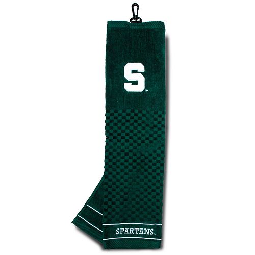 Team Golf Michigan State Spartans Embroidered Towel