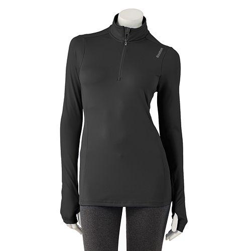 Reebok 1/4-Zip Performance Running Jacket - Women's