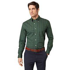 Big & Tall Arrow Grid Casual Button-Down Shirt