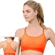 Jockey Sport Summer Stripe Seamless Camisole Sports Bra - 7751