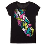 Nike Action Etch Tee - Girls 4-6x