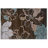 Linon Milan Floral Silhouettes Rug - 1'10'' x 2'10''