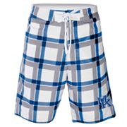 Kentucky Wildcats Plaid Swim Trunks - Men