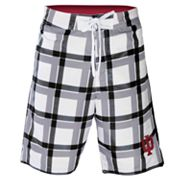 Indiana Hoosiers Plaid Swim Trunks - Men