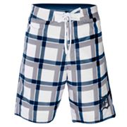 Detroit Tigers Plaid Swim Trunks - Men