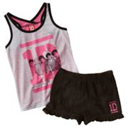 One Direction Signatures Pajama Set - Girls