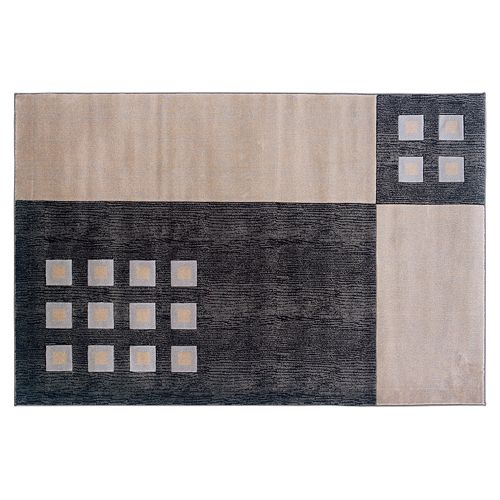 Linon Milan Geometric Rug