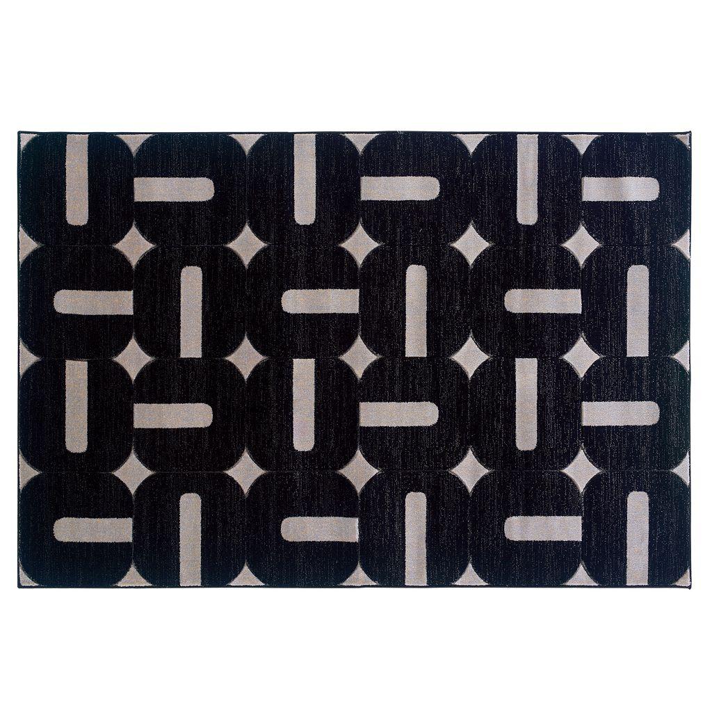 Linon Milan Geometric Rug - 5' x 7'7''