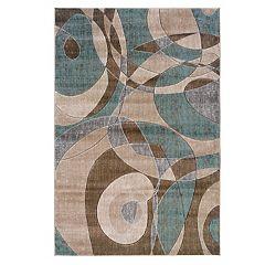 Linon Milan Abstract Rug - 8' x 10'3''