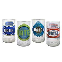 Artland Spring Water 4-pc. Juice Glass Set