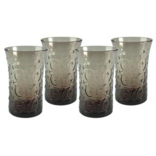 Artland Echo Smoke 4-pc. Highball Glass Set