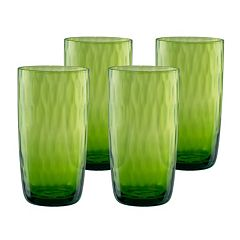 Artland Pebbles 4 pc Highball Glass Set