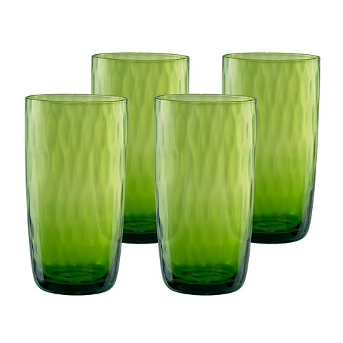 Artland Pebbles 4-pc. Highball Glass Set