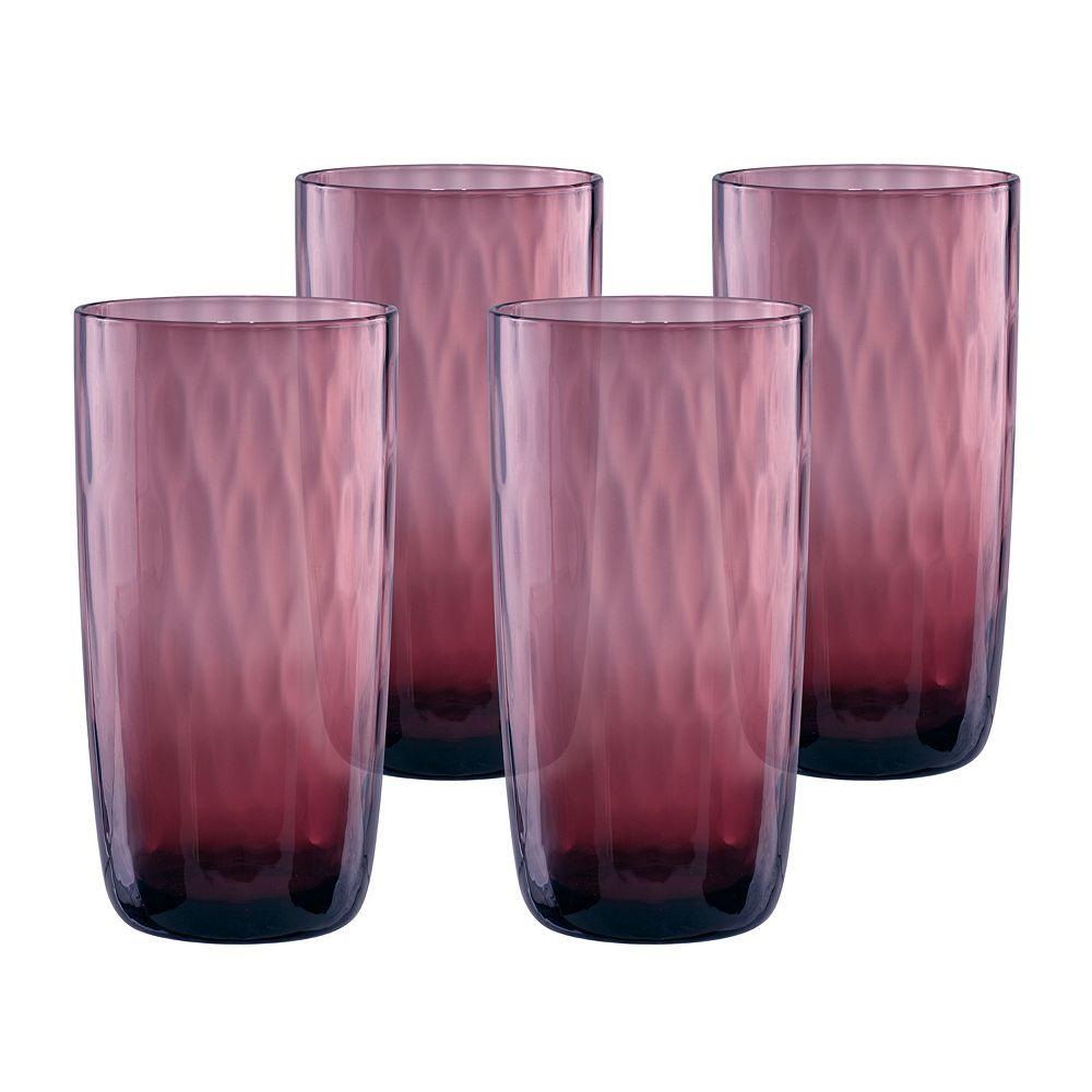 Artland Pebbles 4-pc. Highball Glass Set