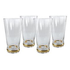 Artland Jewel 4 pc Highball Glass Set
