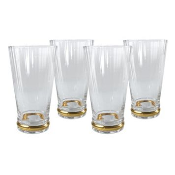 Artland Jewel 4-pc. Highball Glass Set