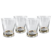 Artland Jewel 4-pc. Double Old-Fashioned Glass Set