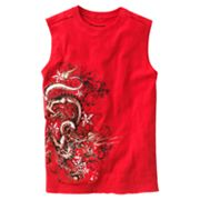 Helix Dragon Side Sleeveless Tee - Boys 8-20