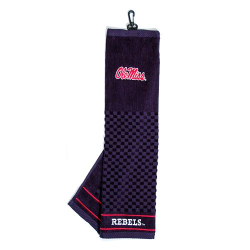 Team Golf Ole Miss Rebels Embroidered Towel