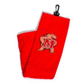 Team Golf Maryland Terrapins Embroidered Towel