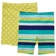 Carter's 2-pk. Striped and Polka-Dots Bike Shorts - Toddler