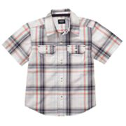 Carter's Plaid Button-Down Shirt - Toddler