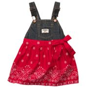 OshKosh B'gosh Bandanna Denim Jumper - Baby
