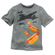 Jumping Beans Airplane and Hot Dog Tee - Boys 4-7x