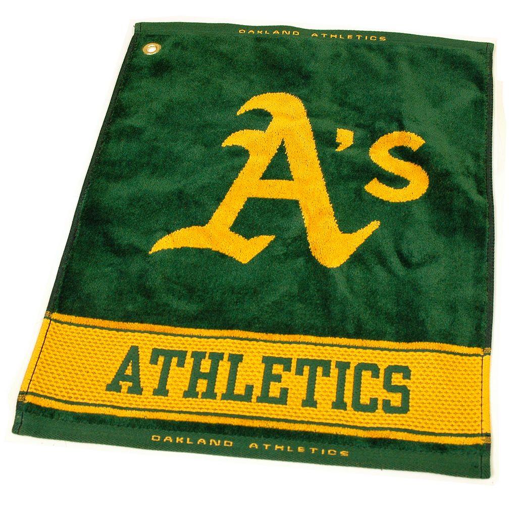 Team Golf Oakland Athletics Woven Towel