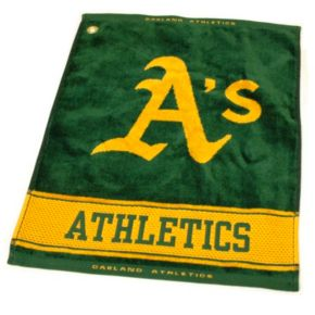 Team Golf Oakland Athletics Woven Towel