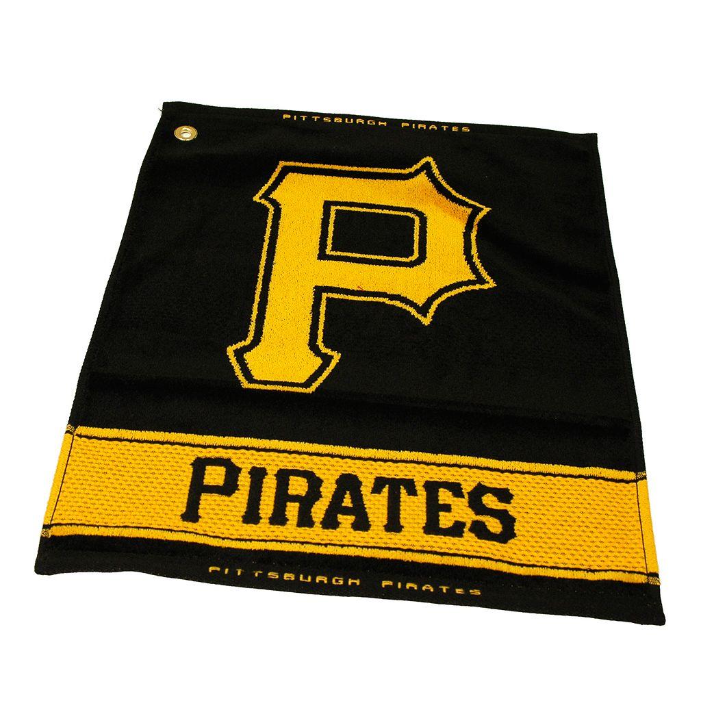 Team Golf Pittsburgh Pirates Woven Towel