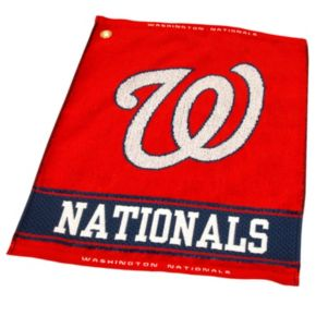 Team Golf Washington Nationals Woven Towel