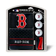 Team Golf Boston Red Sox Embroidered Towel Gift Set