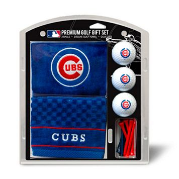 Team Golf Chicago Cubs Embroidered Towel Gift Set