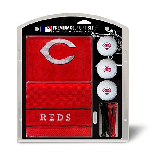 Team Golf Cincinnati Reds Embroidered Towel Gift Set