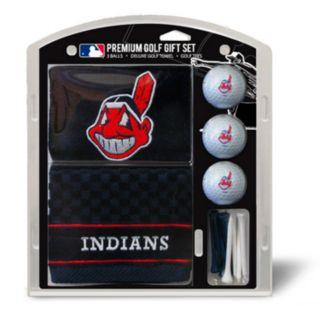 Team Golf Cleveland Indians Embroidered Towel Gift Set