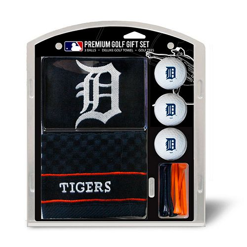 Team Golf Detroit Tigers Embroidered Towel Gift Set