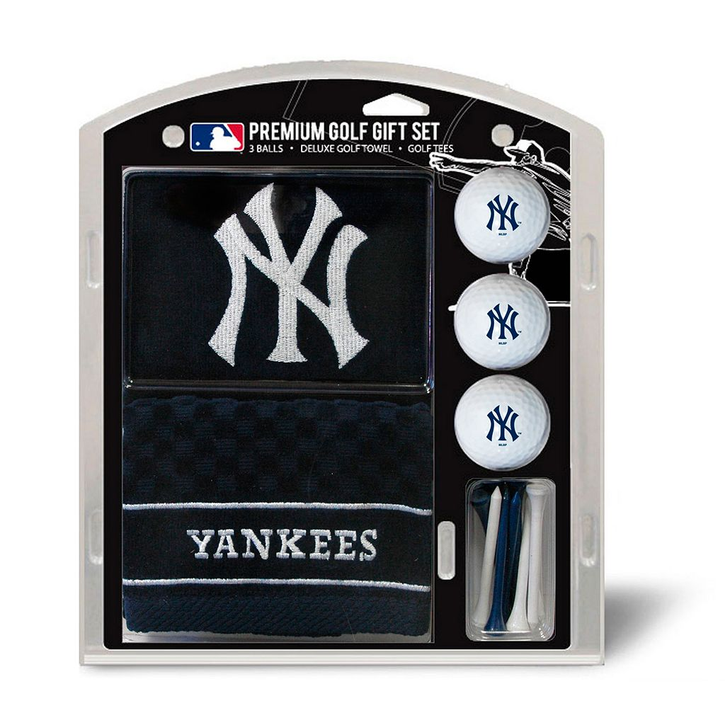 Team Golf New York Yankees Embroidered Towel Gift Set