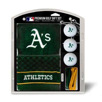 Team Golf Oakland Athletics Embroidered Towel Gift Set