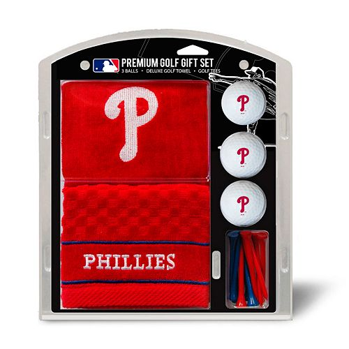Team Golf Philadelphia Phillies Embroidered Towel Gift Set