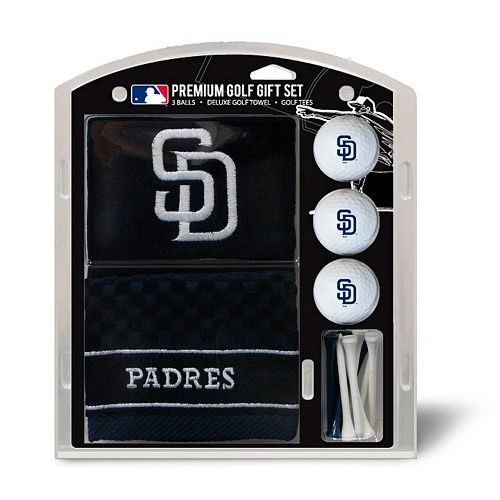 Team Golf San Diego Padres Embroidered Towel Gift Set