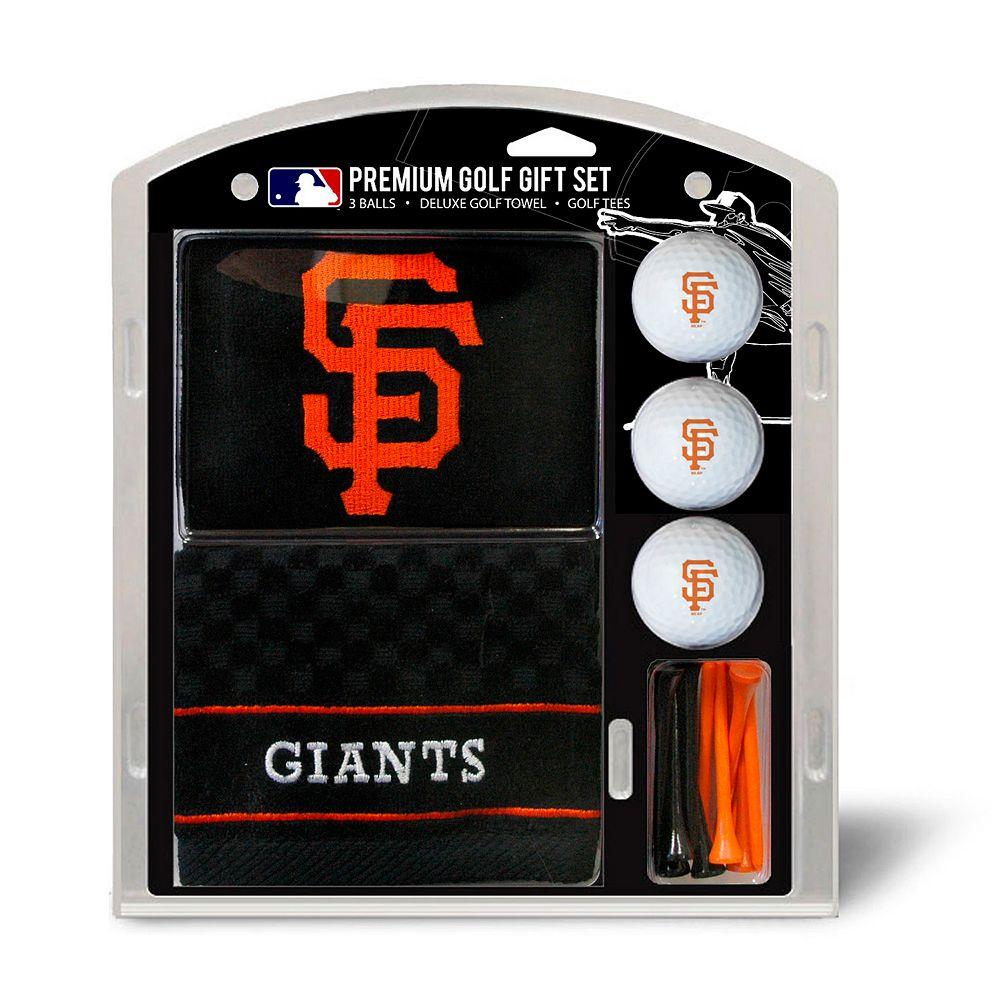 Team Golf San Francisco Giants Embroidered Towel Gift Set