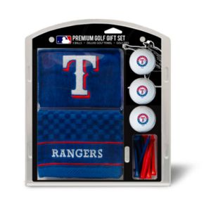 Team Golf Texas Rangers Embroidered Towel Gift Set